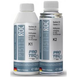 Radiator Oil Cleaner 2-components K1+K2 Двухкомпонентный очиститель радиатора Протек