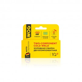 WOG Холодная сварка 2-х компонентная высокопрочная 10*2мл WGC0745