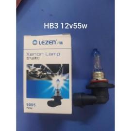 Лампа автомобильная галогенная Lezen HB3 12V 55W 1 шт